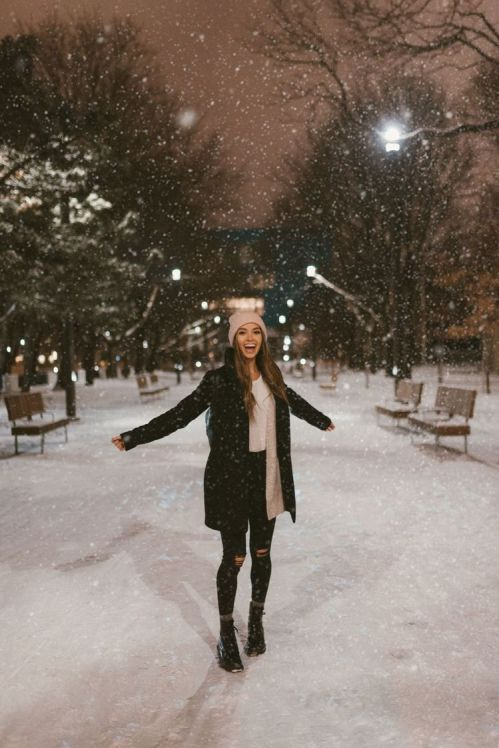 15 black booties you an wear in the snow