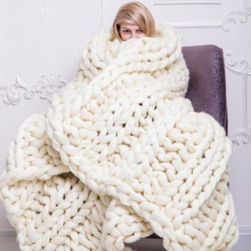 Why Everyone Should Learn To Knit Their Own Blanket