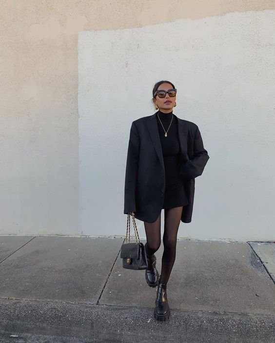 How To Dress In All Black And Look Like A BOSS