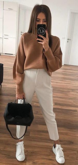 * 10 Möglichkeiten, Braun für den Herbst zu tragen