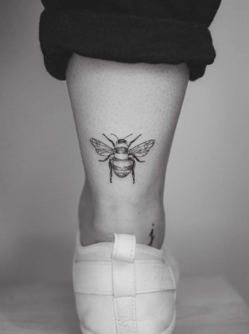 10 Cute Ankle Tattoos You'll Love