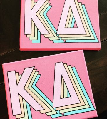 *The Cutest Room Decor To Have At A Sorority House