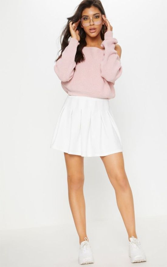 How To Include A White Tennis Skirt in Your Next Outfit
