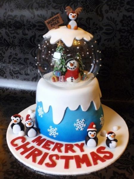10 Christmas Themed Cakes That Will Blow You Away