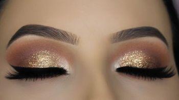 Master Glitter Eyeshadow: Step By Step Instructions