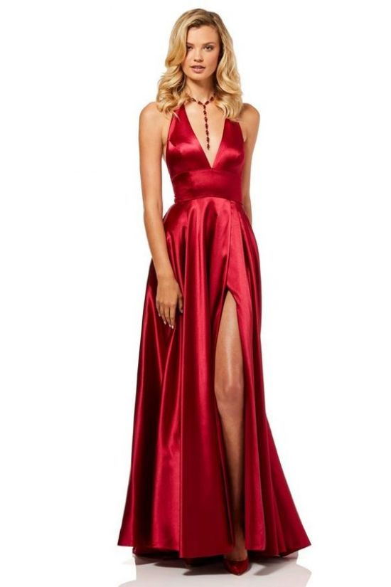 10 red silk dresses to try this valentines day