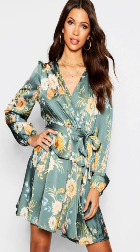 10 Floral Dresses Just In Time For Spring