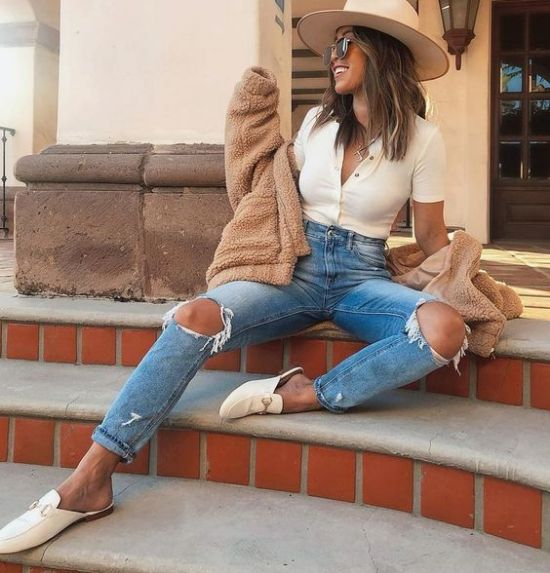 diy your clothes ripped jeans