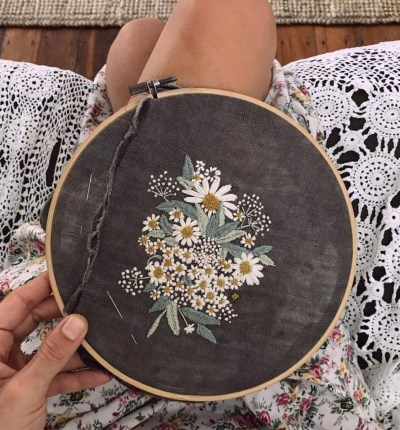 15 Inspo Pics That Will Make You Want To Take Up Embroidery
