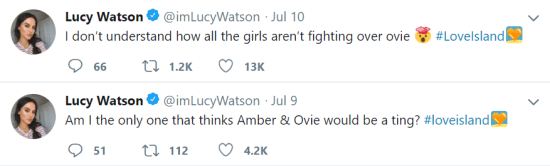 The Things That Other Reality Stars Are Saying About Love Island