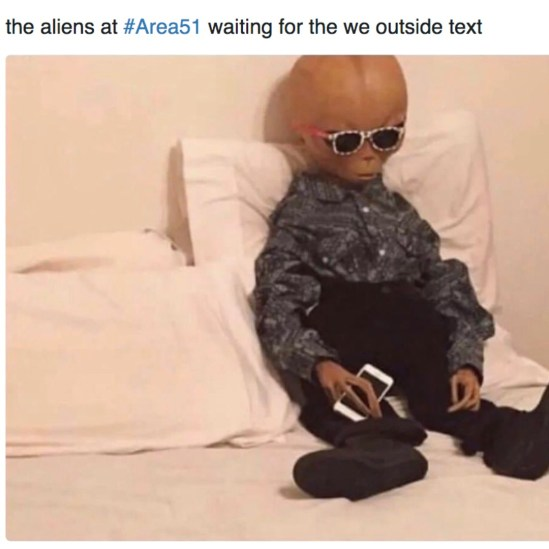 10 Area 51 Meme Tweets That Will Make You Laugh Until You Cry