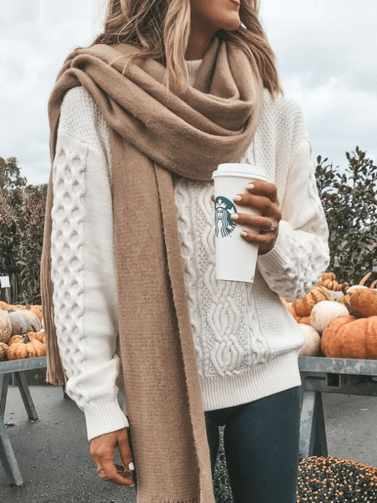 10 Ways To Style Your Scarf And Make Your Outfit Pop