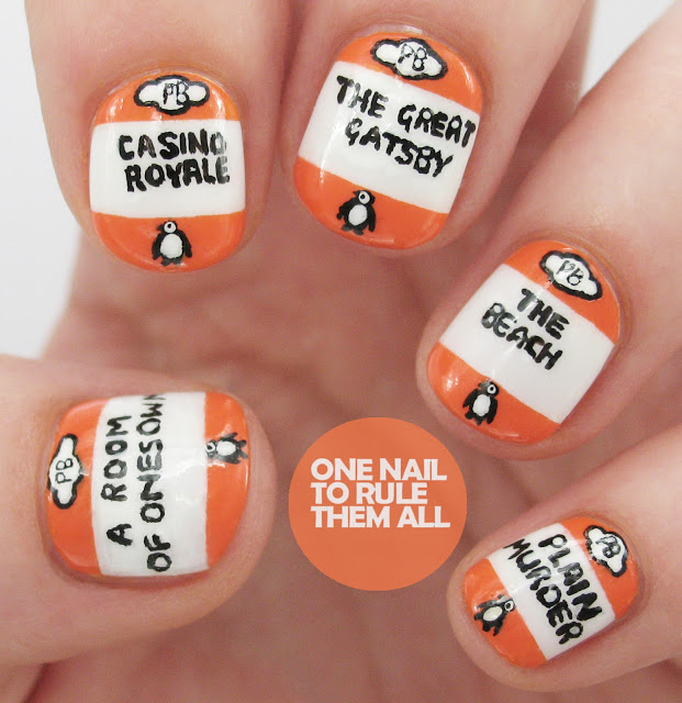 8 Literary Nail Art Designs You'll Love