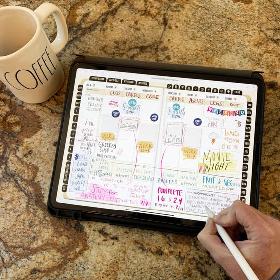 Digital Planner Vs. Paper Planner Which Is Better For You