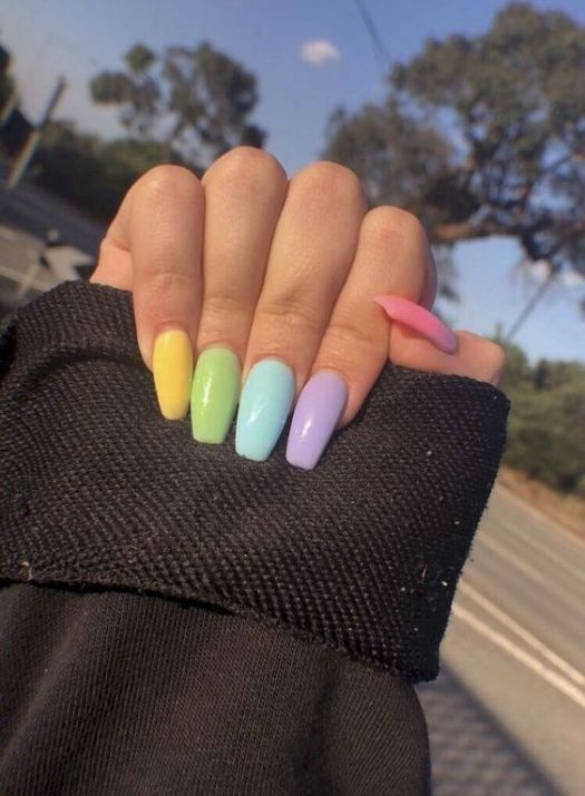 8 Cute Coffin Nails Looks That Aren't Too Much