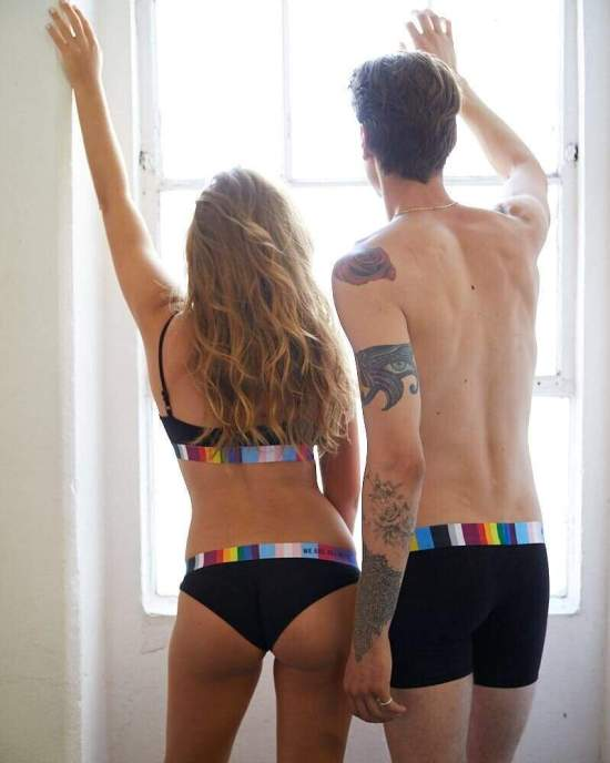 *His & Hers Matching Underwear Sets