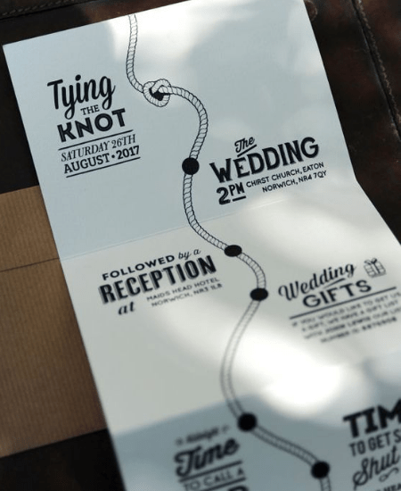 10 Innovative Wedding Invitations Ideas That Will Make Your Guests Want To Come