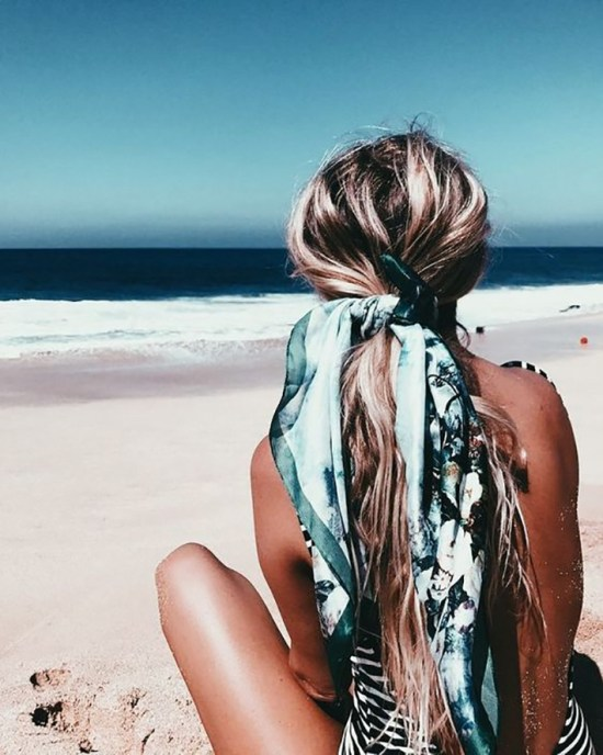 *Amazing Summer Hair Accessories You Can Wear To The Beach