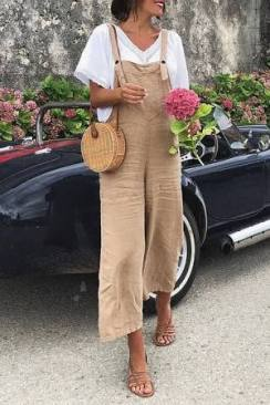 5 Ways To Wear Overalls During The Summer