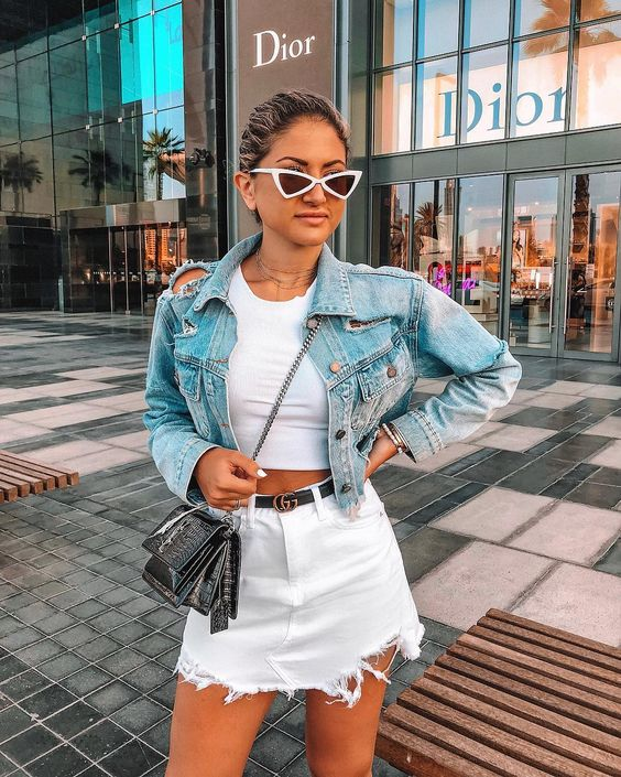 How To Wear Your Denim Skirt This Summer