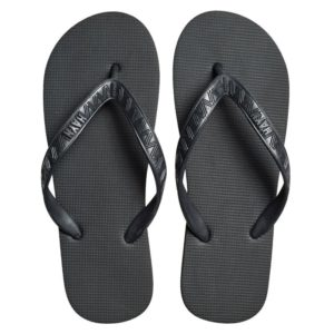 To avoid walking barefoot in case the floor is wet or dirty always carry light weight slippers