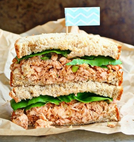 If you like spicy food, then the Spicy Tuna Sandwiches are a healthy and easy sandwich to have in spring.