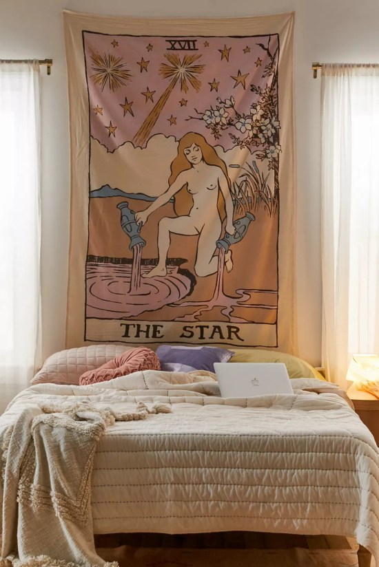 8 Beautiful Tapestries to Give Your Dorm Room a Chill Vibe