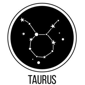 Taurus zodiac icon