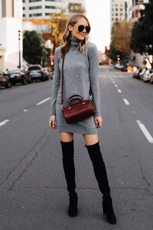 The Best Ways To Style A Turtleneck Top