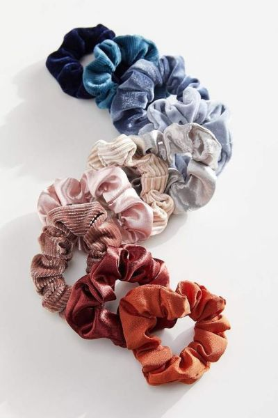 12 Velvet Scrunchies That Will Take Your Pony Tail To The Next Level