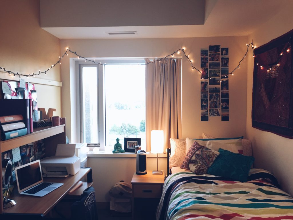 With Photos Hung To Reminisce And Twinkly Lights To Brighten Dark Days,  Madison Clearly Has Dorm Life All Figured Out. Part 86