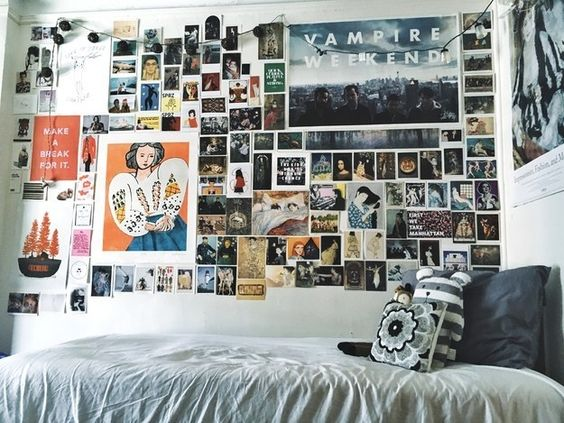 How to decorate your dorm room on a budget society19 for Cool posters for bedrooms