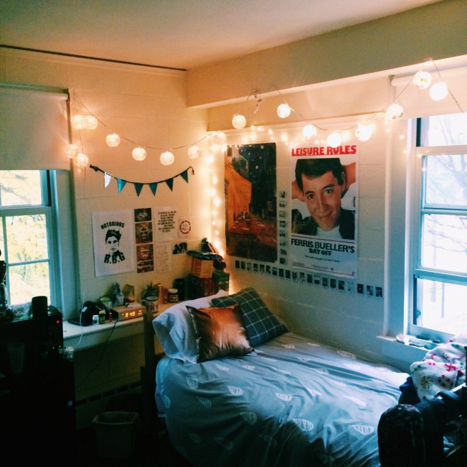 Simmons College has some amazingly decorated dorm rooms!