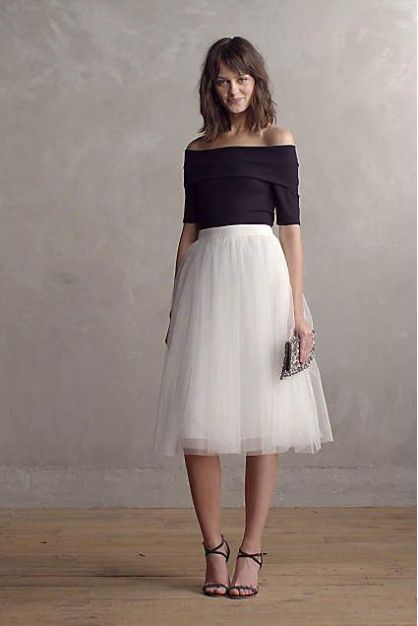1d6b3658fc8 15 Ways To Wear A Tulle Skirt - Society19 UK