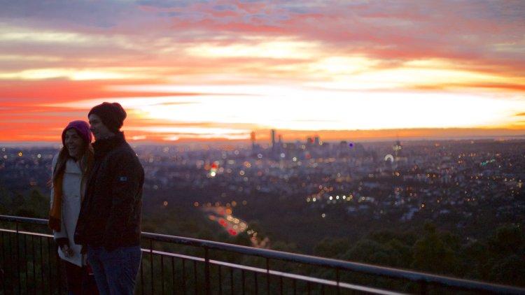 Mt Coot-tha sunset