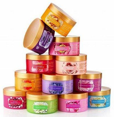 Body butters are great christmas gift ideas for her!