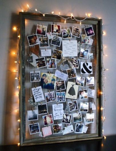 This is one of the cutest ways to decorate your dorm room!