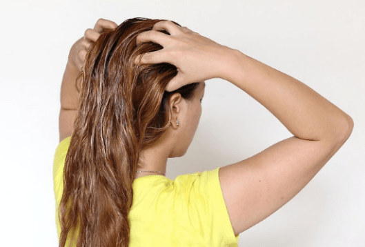 This is one of the best DIY hair masks to make!