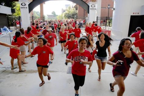 Check out these UGA freshman move in tips!