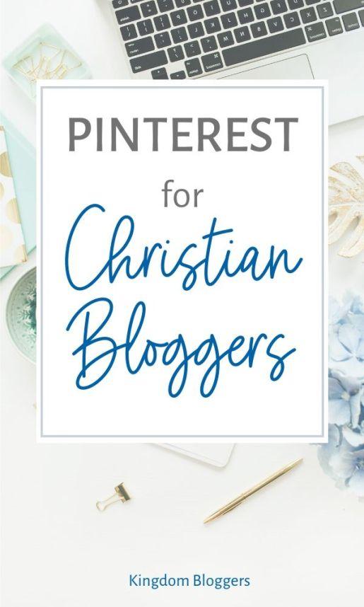 pinterest for Christian bloggers