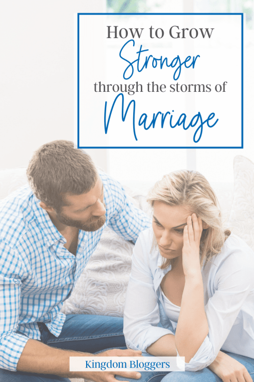 growing the storms of marriage