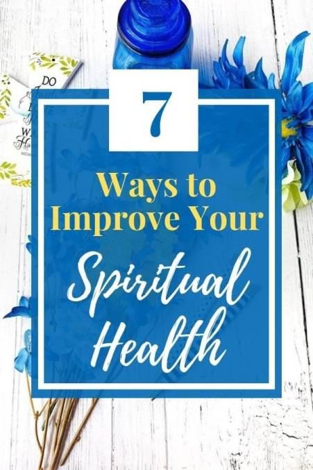 Improve Spiritual Health
