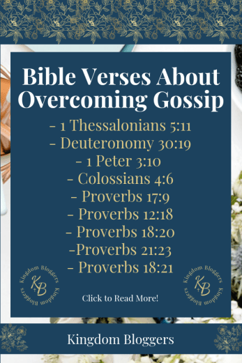 Bible Verses About Gossip
