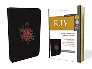 bibles for the visually impaired