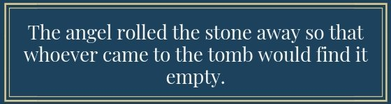Who Went To The Tomb And Found It Empty