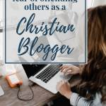 Fear of Offending Others as a Christian Blogger