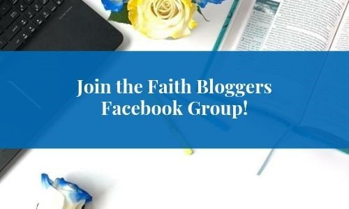 Christian Bloggers Facebook Group