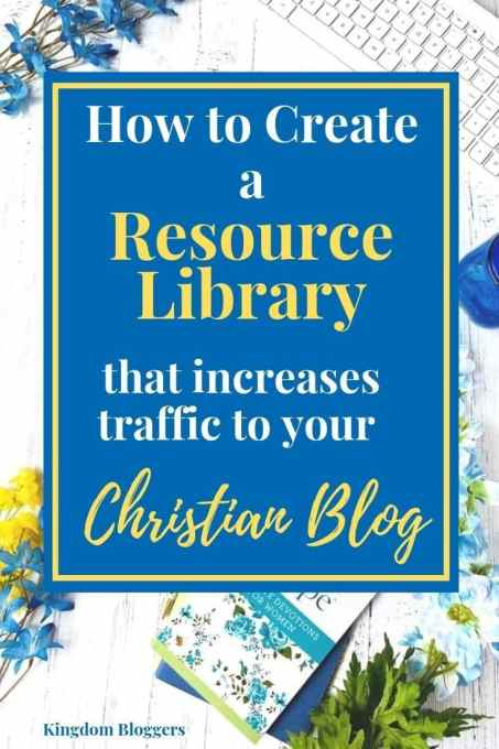 how to create a resource library