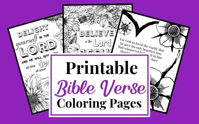 Printable Bible Verse Coloring Pages for Women and Kids ...
