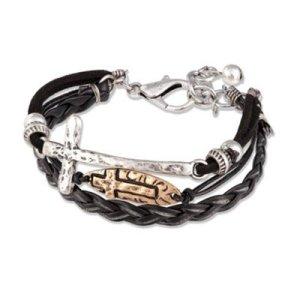 Black multi bracelet